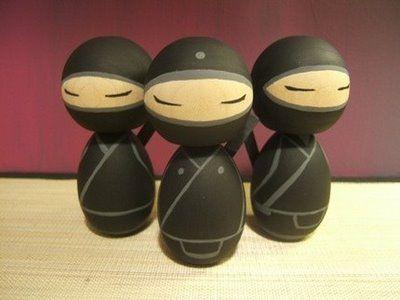 Kokeshi ninjas