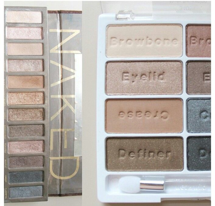 Urban decay  Naked Palette Dupe Wet and wild awekening
