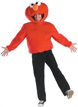 PartyBell.com - Sesame Street Elmo Adult Costume