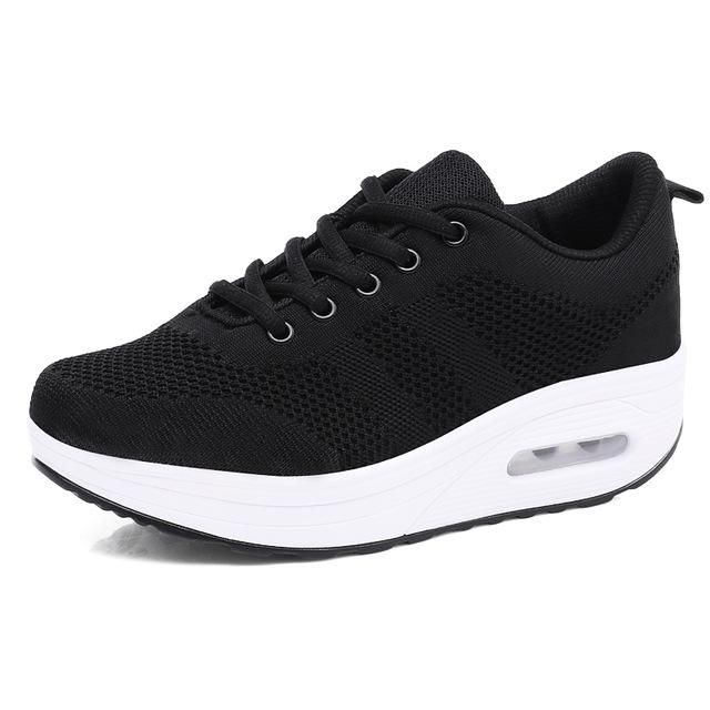ba5a129c1bc Spring Running Shoes Woman Breathable Sport Shoes Summer Outdoor Mesh  Trainers Athletic Jogging Sneakers Women Zapatos Mujer