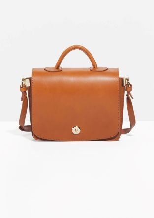 & Other Stories | Top Handle Leather Bag
