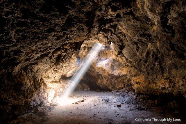 Lava Tube in Mojave National Park