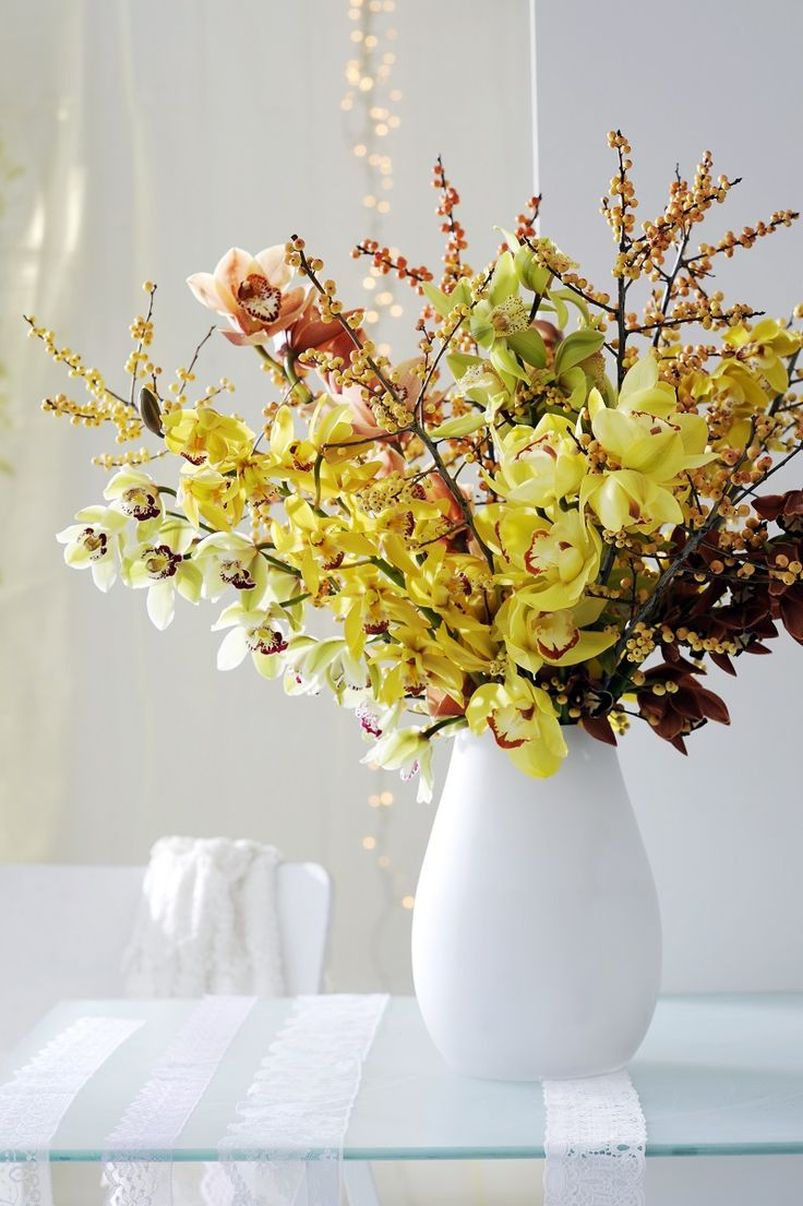 Orchid home decoration inspiration on funnyhowflowersdothat.co.uk: