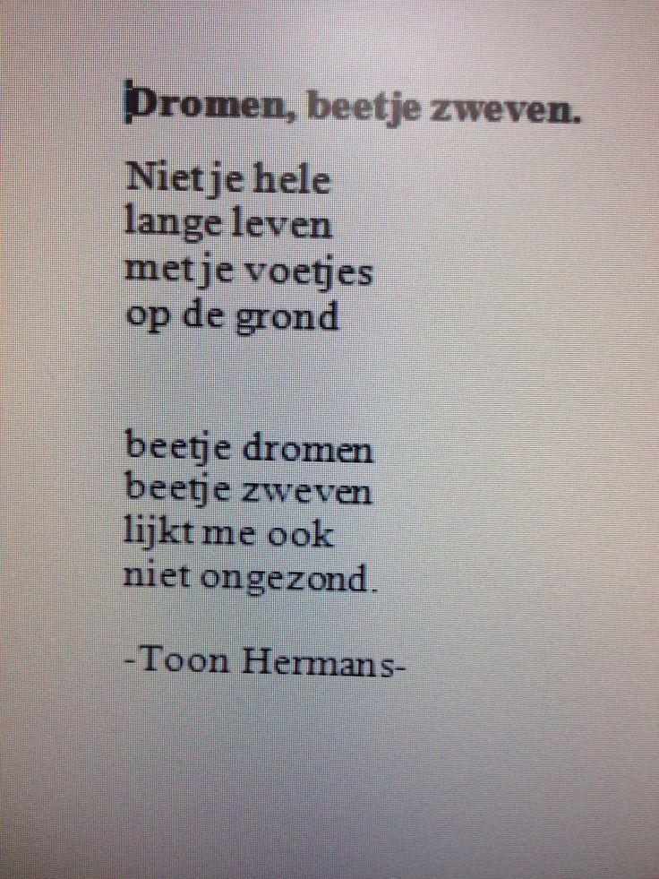 Toon Hermans: Dromen, beetje zweven