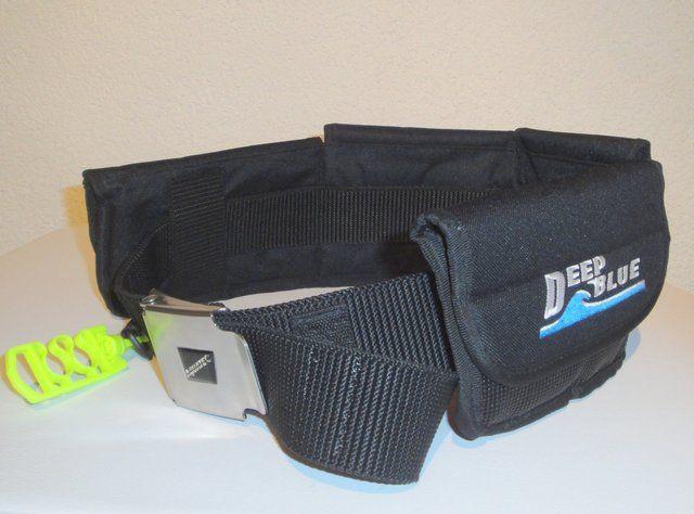 DEEP BLUE weight-belt
