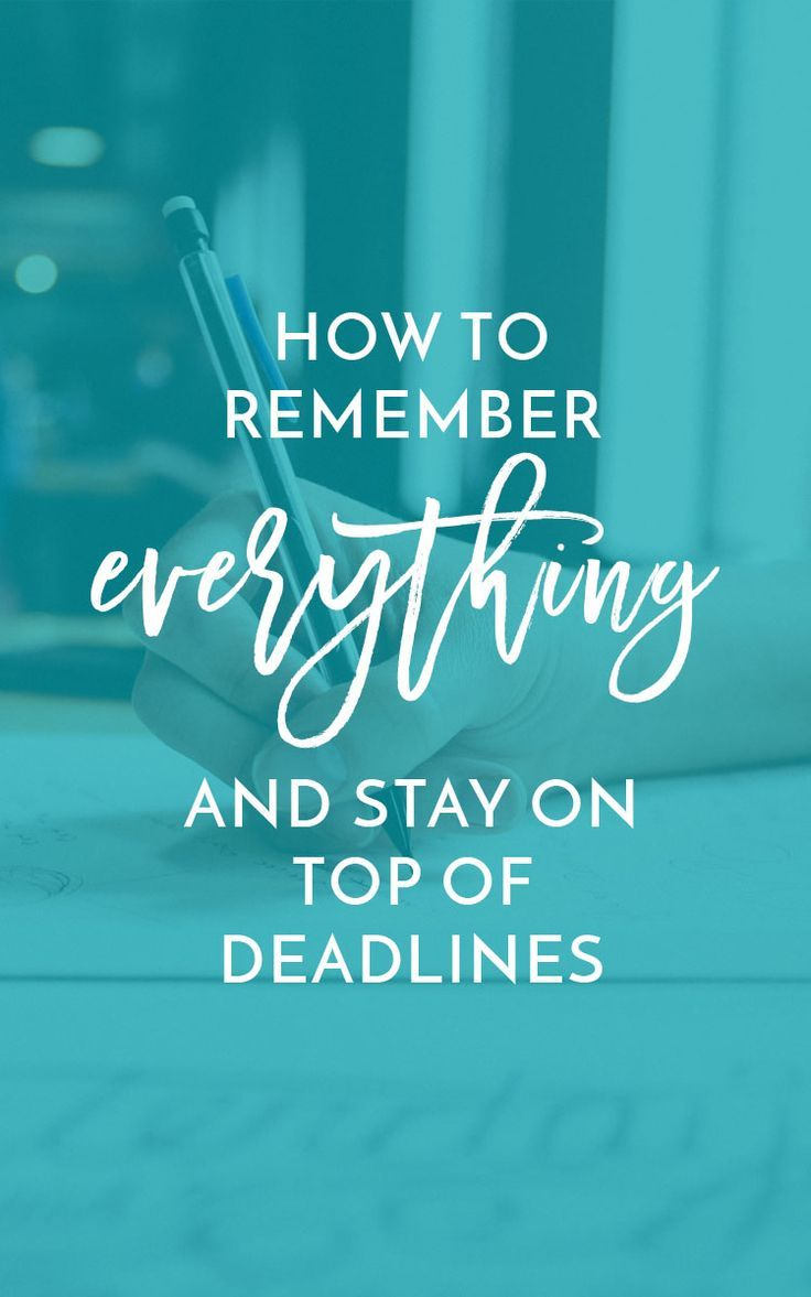 How to Remember Everything by Miranda Nahmias | Have trouble remembering things in your creative business? Miranda shows us how to use project management tools like Asana to stay on top of things! Click through or repin!