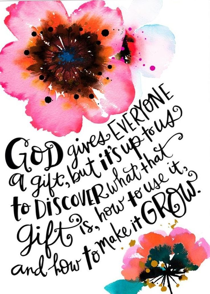 Beautiful quote about faith. Make your gift grow.