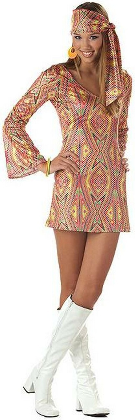Disco Dolly Teen Costume Product  WC105005 Retail Price $32.42 Sale Price $23.88