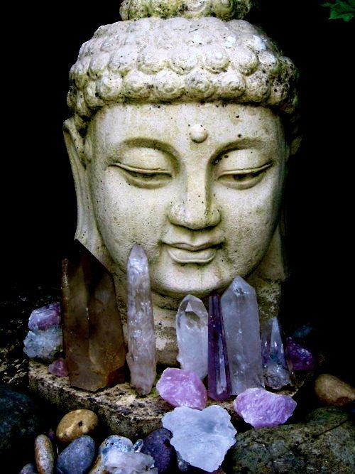 budha: Buddhism, Amethysts, Spiritual, Healing Crystals, Sacred Spaces, Inner Peace, Quartz Crystals, Crystals Healing, Buddha