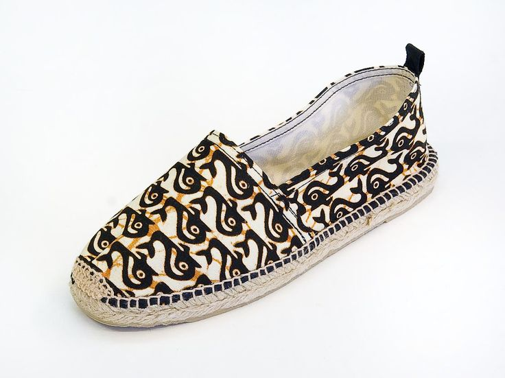 African Inspired Espadrille Collection by FURAHA - www.facebook.com /KikapubyFurahaB