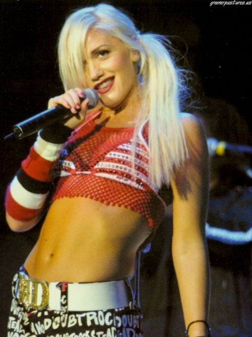 Gwen Stefani, I have loved her since the 90's  and i think she's a great role model.