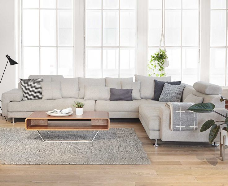 Cepella Sectional from Dania Furniture Co. - Sink into the all-around  comfort of - Best 25+ Modern Sectional Sofas Ideas Only On Pinterest L Type