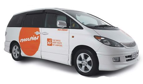 The same features as the Beta 2 except for only 2 seats. The Beta 2S is our latest innovation - the perfect upgrade from a car rental! http://www.touring-newzealand.com/campervans/spaceship/campervan-hire-beta2s.php