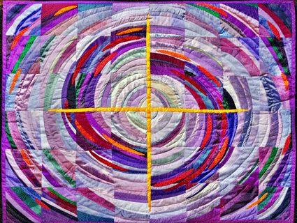 Violett ist die Farbe der Buße, der Vergebung, der Versöhnung, der Umkehr, des Neubeginns.