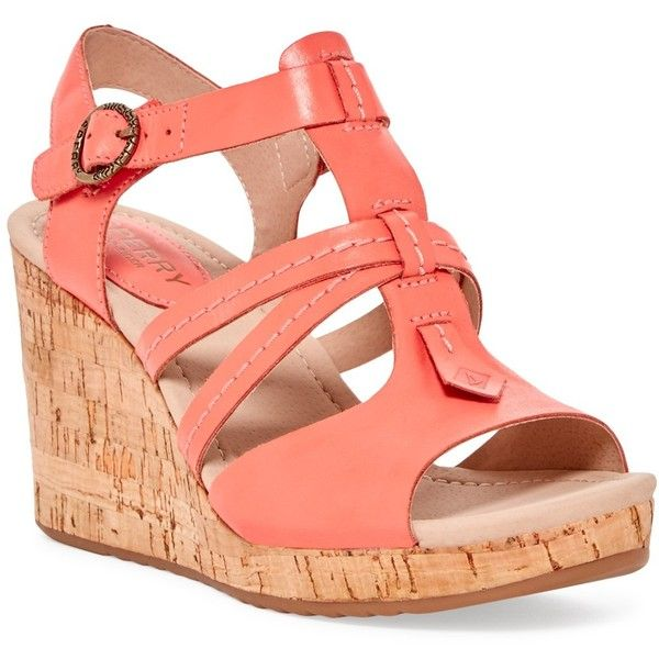 Sperry Dawn Day Wedge Sandal ($60). In love with my wedge sandals! Super comfy for work!!!