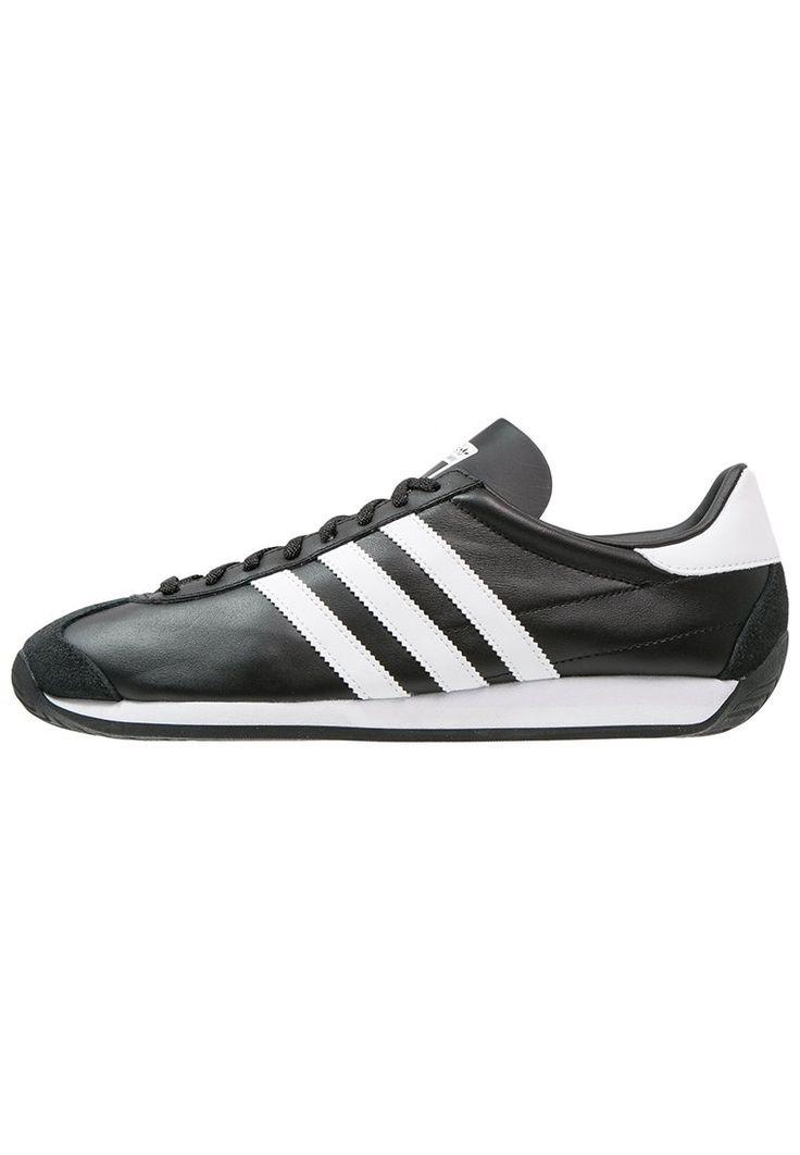 opvallende Adidas Originals  COUNTRY OG Sneakers laag core black/white (zwart)