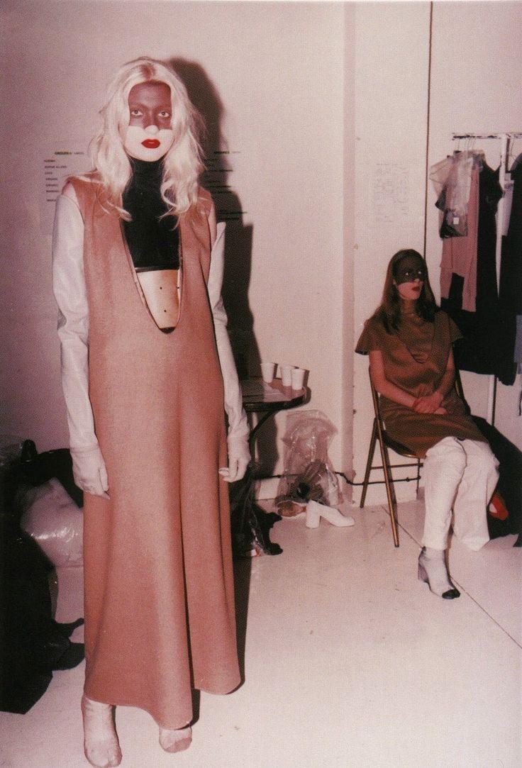 Maison Martin Margiela 1996. Trace the parallels between Galliano and Margiela here: http://www.dazeddigital.com/fashion/article/23127/1/galliano-vs-margiela-a-visual-history