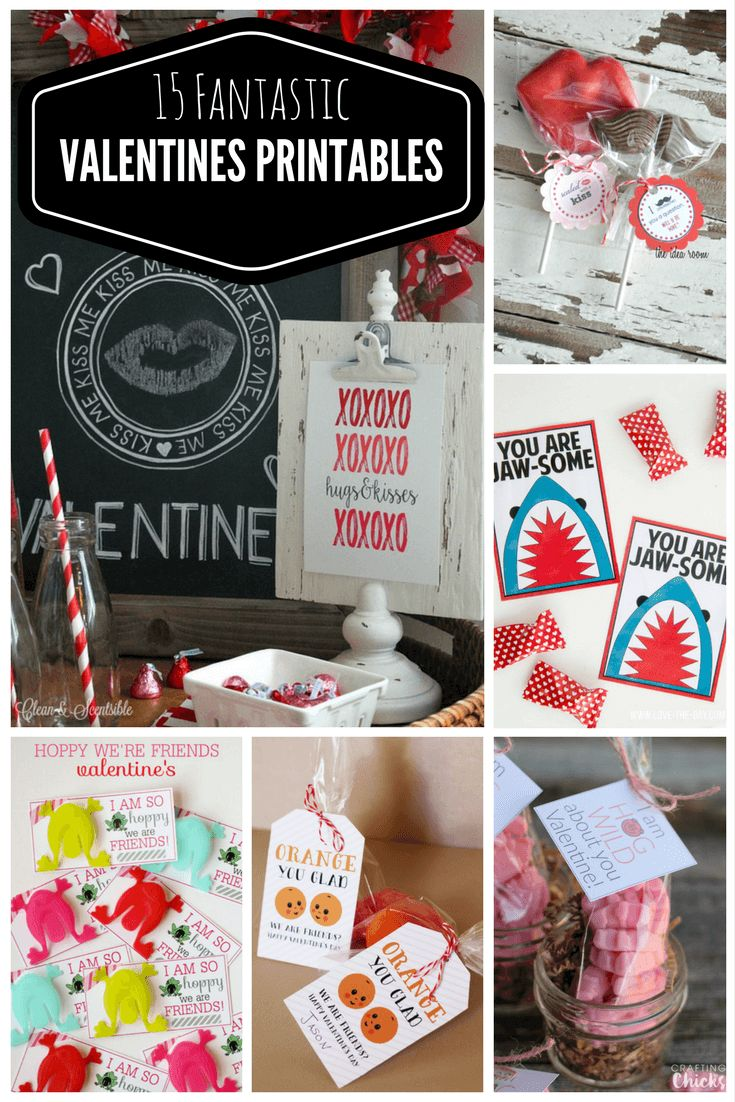 15 Fantastic Valentines Printables For Your True Love Valentines is heading our way and today I wanted to share some fantastic ideas for Valentines Printables. I hope you enjoy this and would love to hear…
