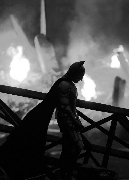 Even Batman has to be defeated sometimes so he can learn how to be better for the greater good