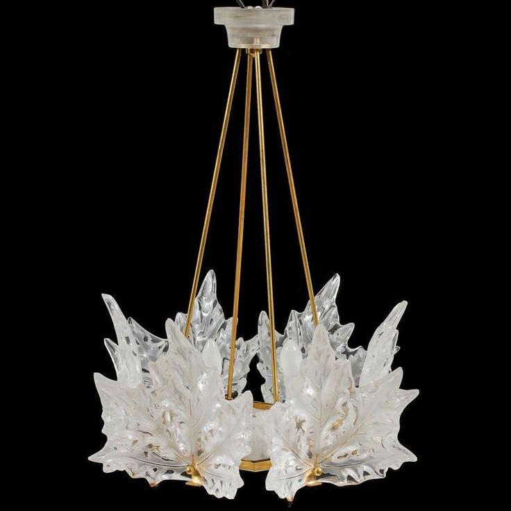 Elegant Rare Vintage Lalique Champs Elysees Crystal