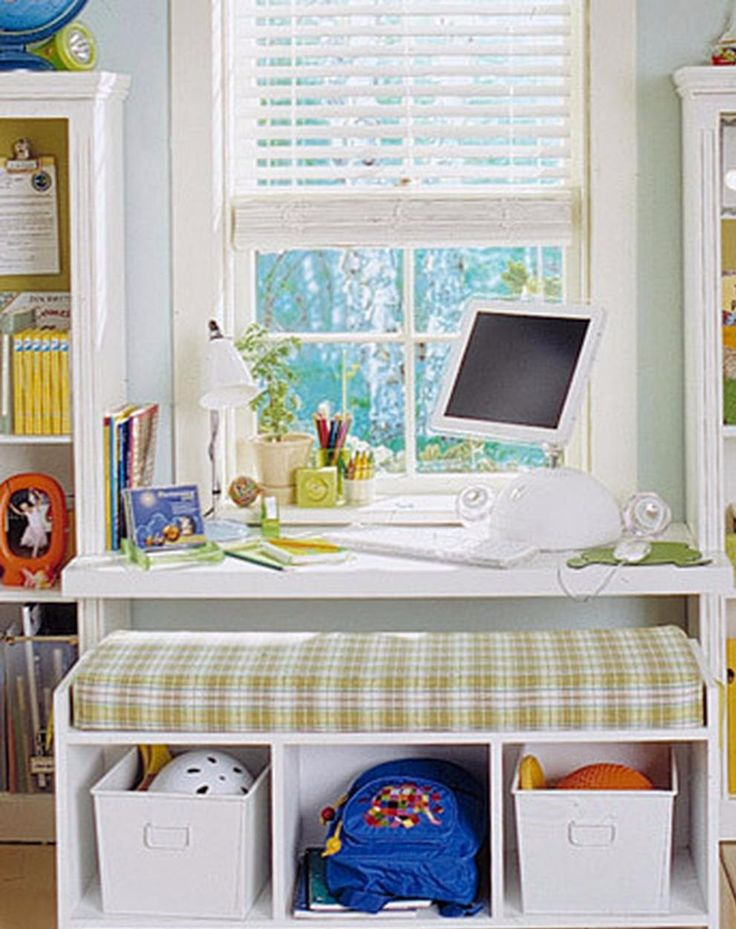 Dream Desk | Martha Stewart Living - As children begin the new school year, they do so with a sense of excitement, anticipation, and a little angst. You can help ease the transition and encourage the achievement of academic goals by creating a back-to-school workstation filled with all the essentials your child will need to succeed.