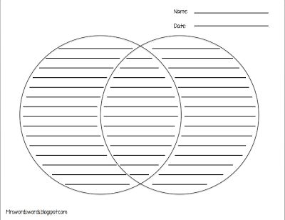 Venn Diagram With Writing Lines Yolarnetonic