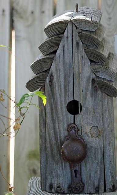rustic & rural <3 simplistic & sublime bird house