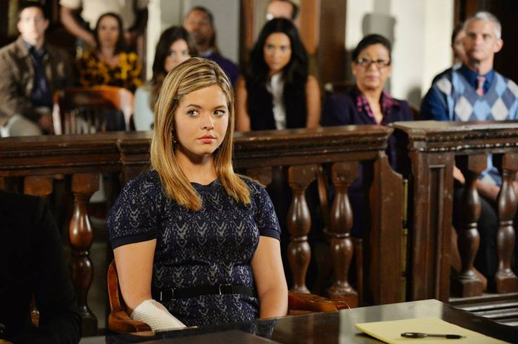 "#PLL 5x23 ""The Melody Lingers On"" - Alison"