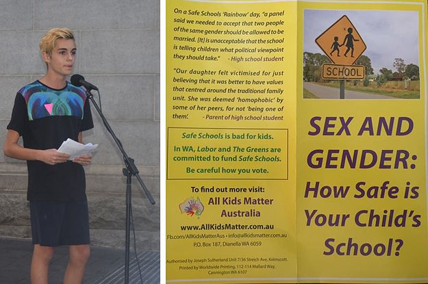 We Asked A Queer Teenager To Fact Check This Anti-Safe Schools Flyer