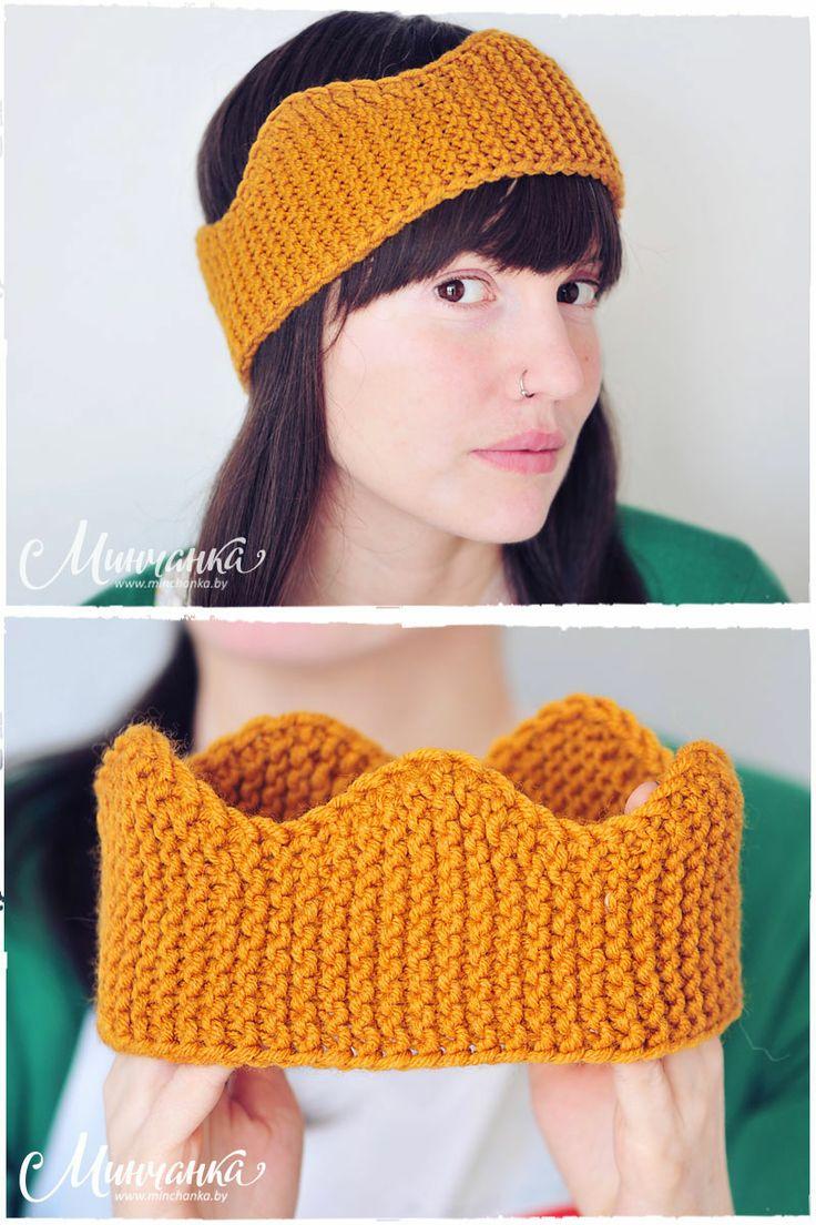 Real spring CROWN! #knitting #crown #ryangosling #knittinglove #knittingaddict #minchankaby #minchanka #freetutorial #knittingneedles #heart #iloveknitting #craft #diy #handmade