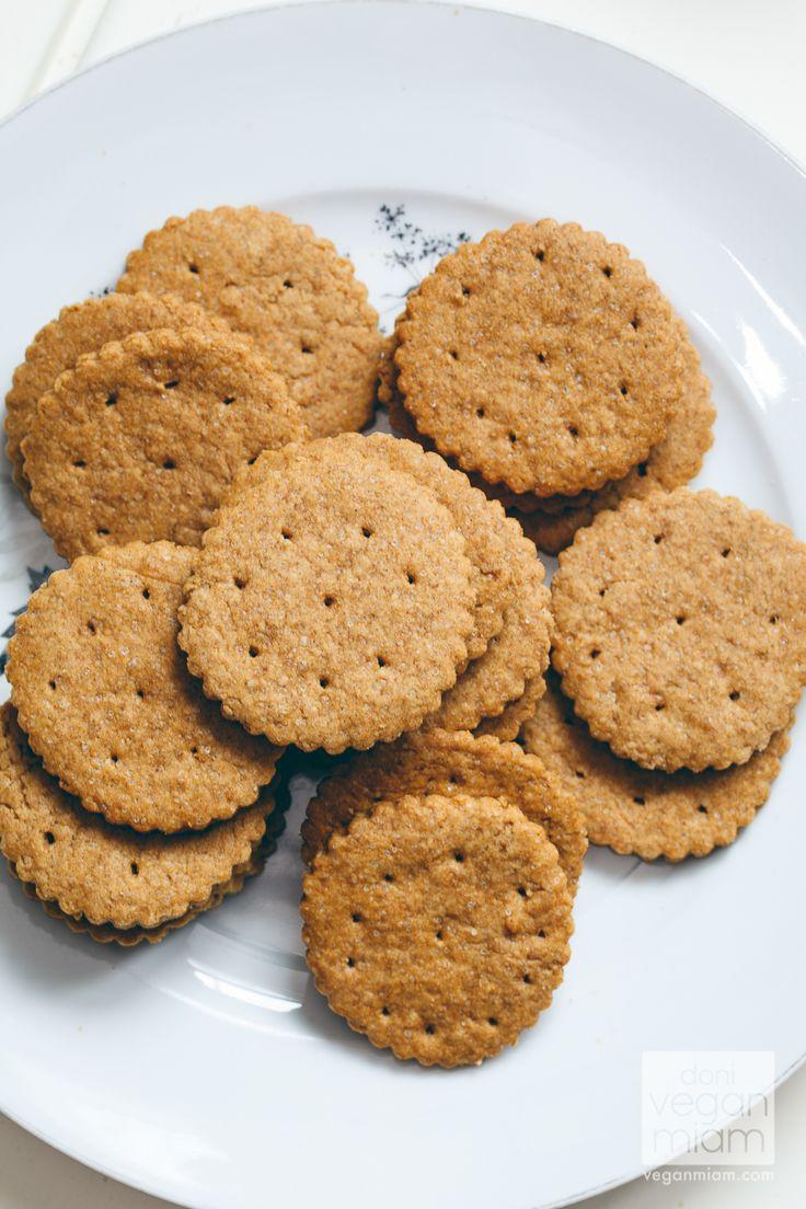 #Vegan Chocolate: Graham Crackers | vegan miam #recipe #veganchocolate