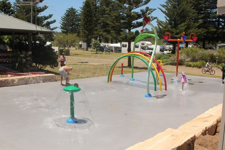 Vortex Aquatic Playgrounds built this Splashpad in November/December 2012