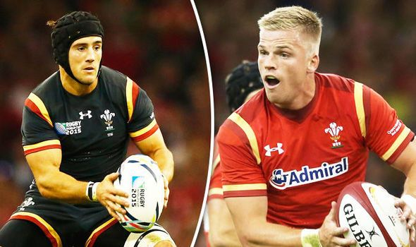 Wales stars Matthew Morgan and Gareth Anscombe face awkward meeting after this Twitter row