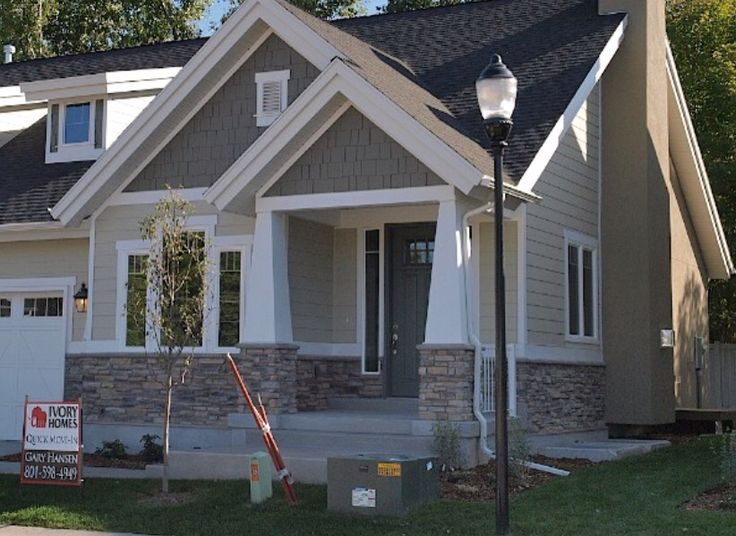 Exterior 2 Tone House Exterior Ideas Pinterest