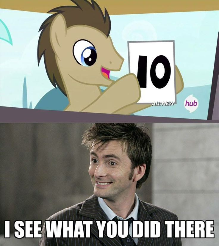 YEESSS hahaha I've actually seen that episode! Every time Doctor Whooves popped up somewhere I fangirlled quite a bit.