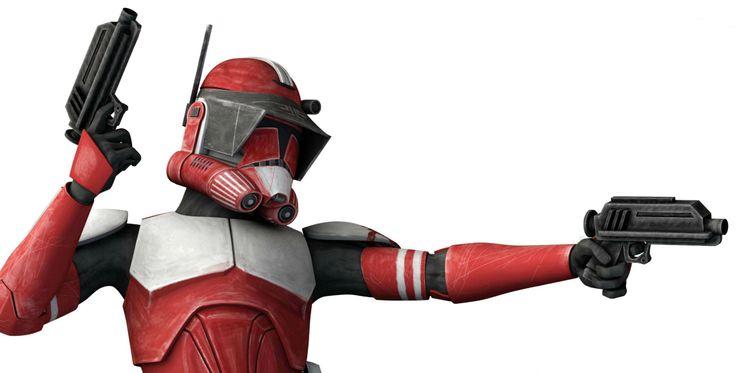 Star Wars: The Clone Wars - Clone commander Fox, Coruscant Guard