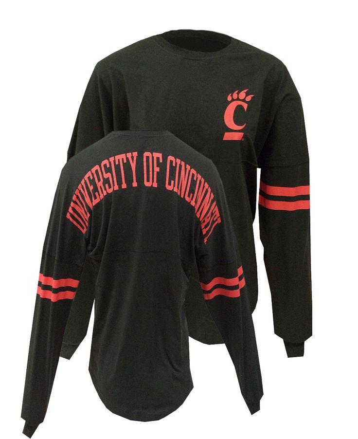 Image for Women's University of Cincinnati Black Spirit Jersey