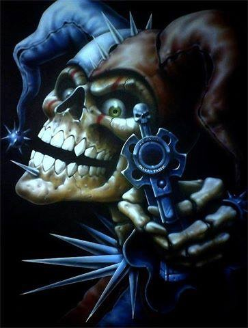 SKULL....PARTAGE OF A DIFFERENT TYPE OF STEALING ON FACEBOOK.....