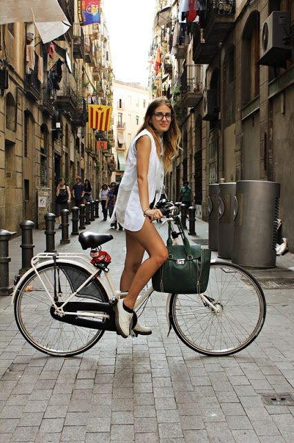 Barcelona Street Style via THE PILE OF STYLE
