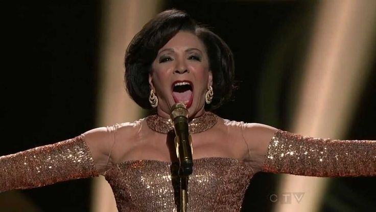 Shirley Bassey - Goldfinger (50 Years Of Bond) P.s....bel canto technique...stomac...:) Classical beauty....!