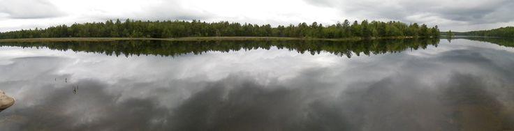 Bon Echo Provincial Park Ontario backcountry camping