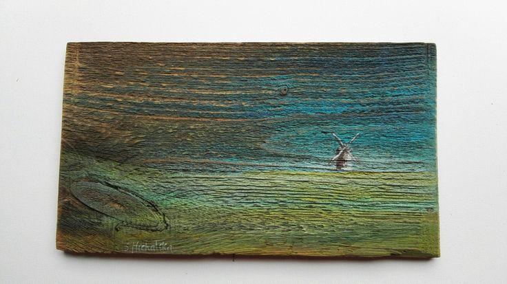 Obrazy olejne na starych deskach Sylwia Michalska, www.artpracownia.wordpress.com