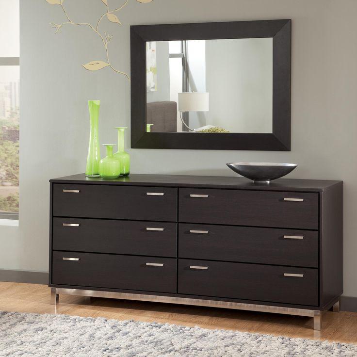 Modern Dresser Furniture With Design Black Color