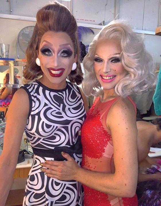 Bianca Del Rio and April Carrión