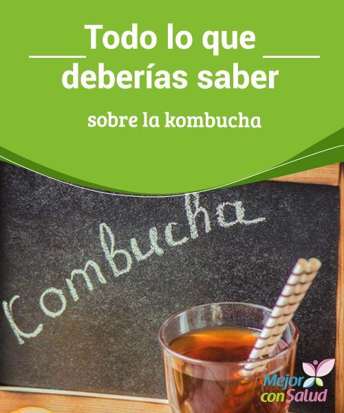 Todo lo que deberías saber sobre la #kombucha  Para obtener todos los beneficios de la kombucha debemos asegurarnos de que los #ingredientes con los que la preparamos son de la mejor calidad, o bien adquirirla ya lista #Recetas