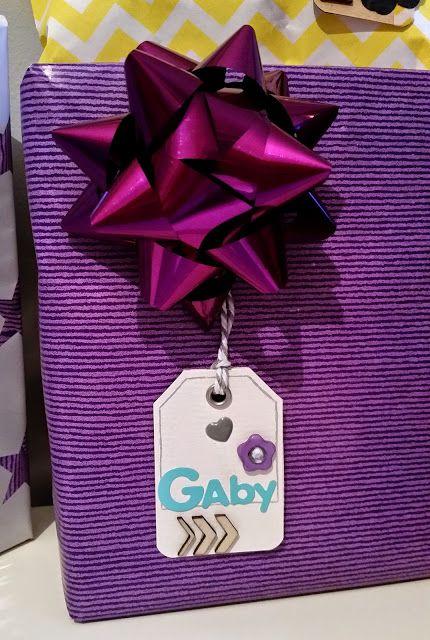 Etiquetas DIY por Bangaboo Scrap #scrapbooking #tags #regalos #wrapping