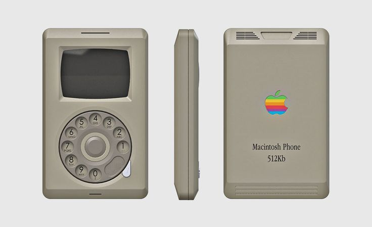 The 1980s Apple Macintosh Phone Concept