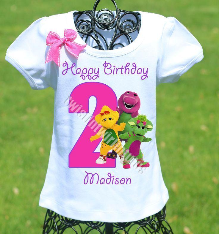 29 Besten Barney Birthday Party Ideas Bilder Auf Pinterest