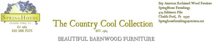 Reclaimed Wood Flooring - BEAUTIFUL BARNWOOD FURNITURE