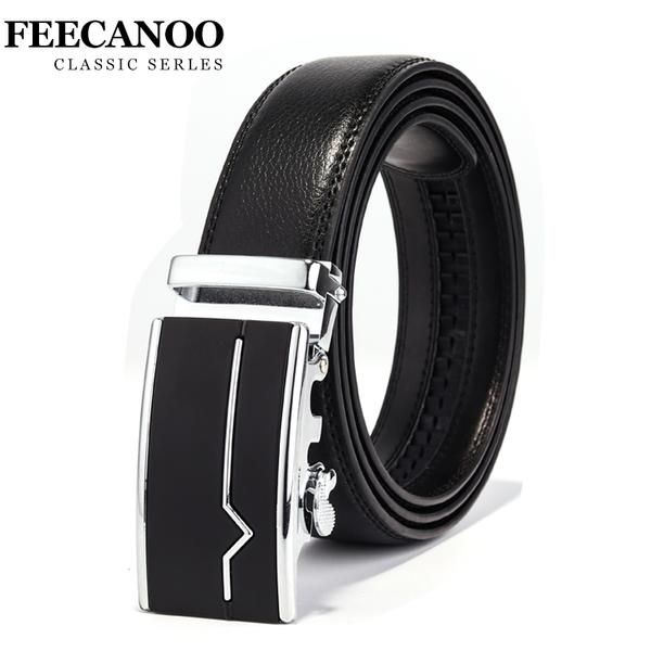 #FASHION #NEW Famous Brand Belt Men 100% Good Quality Cowskin Genuine Luxury Leather Men's Belts for Men,Strap Male Metal Automatic Buckle